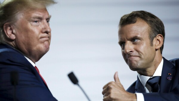 G7 Trump-Macron