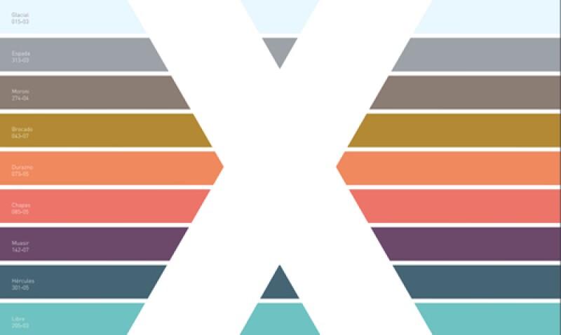 Reflejo paleta de colores de Comex