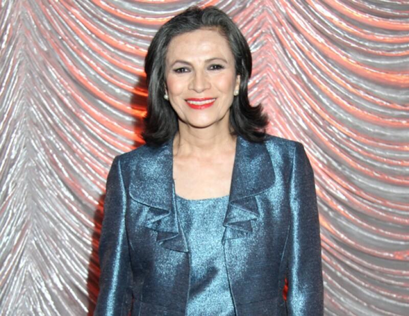La actriz mexicana se siente satisfecha con su trabajo y cree que es una oportunidad para crecer como actriz en Estados Unidos.