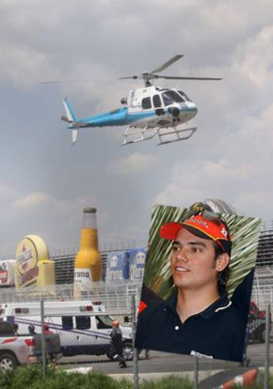 El empresario fue quien prestó el helicóptero para trasladar al piloto de la Nascar al hospital, donde desgraciadamente perdió la vida este domingo después del accidente automovilístico.