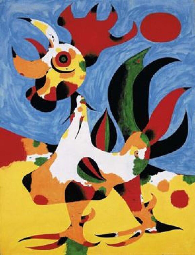 Miró será otro de los artistas que se expondrán en la muestra.