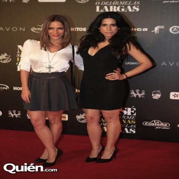 Estela y Bianca Calderón