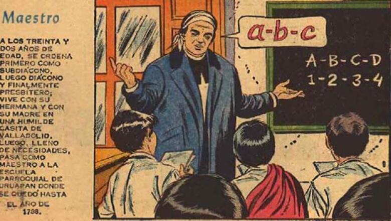comic antiguo mexicano