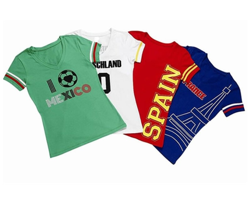 Royal Closet creó una playera alusiva a la selección mexicana con un diseño original y un fit favorecedor.
