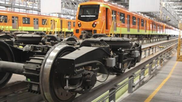 CAF confía en que se extienda la ruta del tren suburbano. (Foto: Cuartoscuro)
