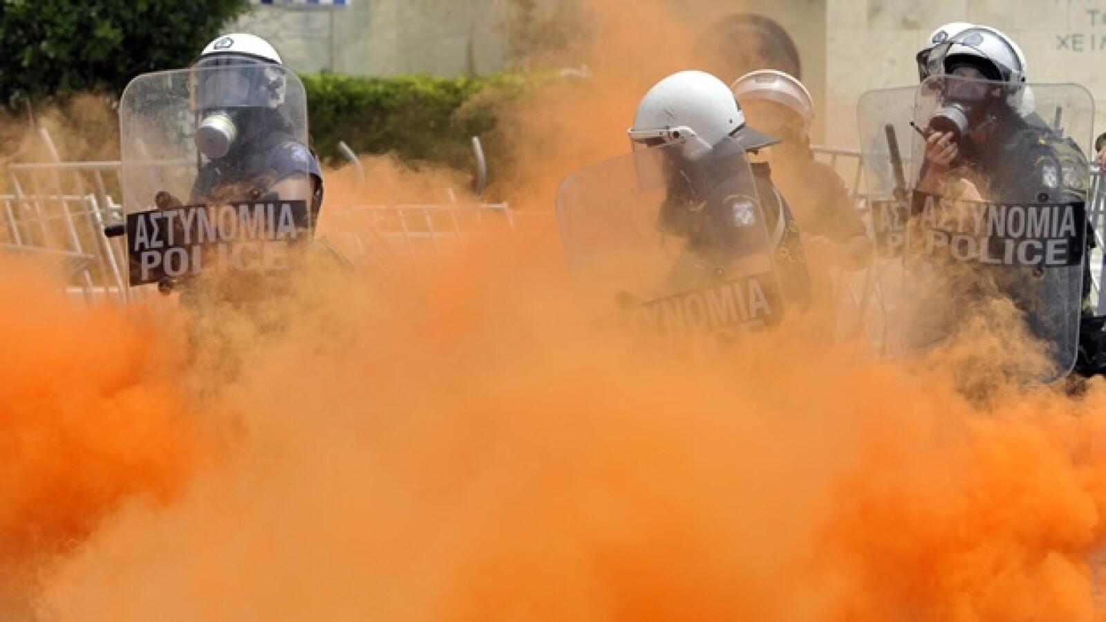Grecia - protestas