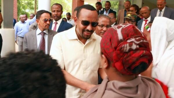 Abiy Ahmed, primer ministro de Etiopía recibe el Premio Nobel de la Paz 2019