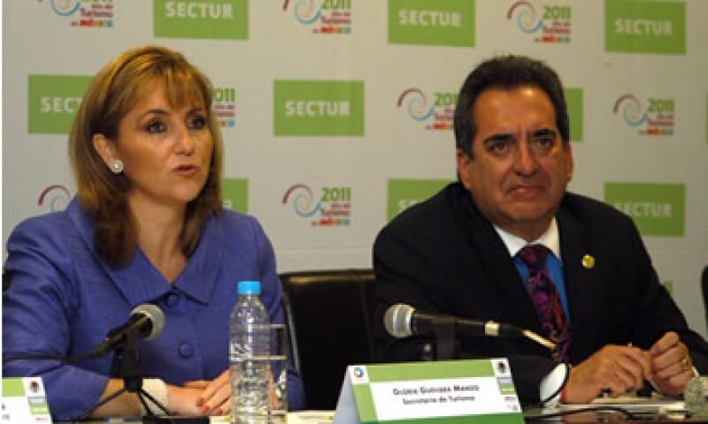 Gloria Guevara, titular de la Sectur aseguró que existe mucha presión de la iniciativa privada sobre el cambio de sede del Tianguis Turístico. (Foto: Notimex)