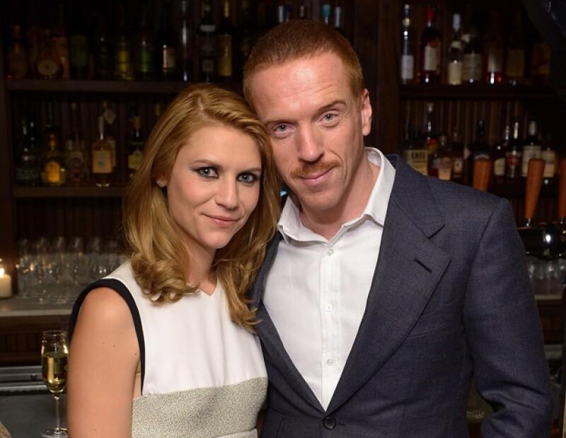 """Estrellas pelirrojas: Claire Danes y Damian Lewis, protagonistas de """"Homeland""""."""