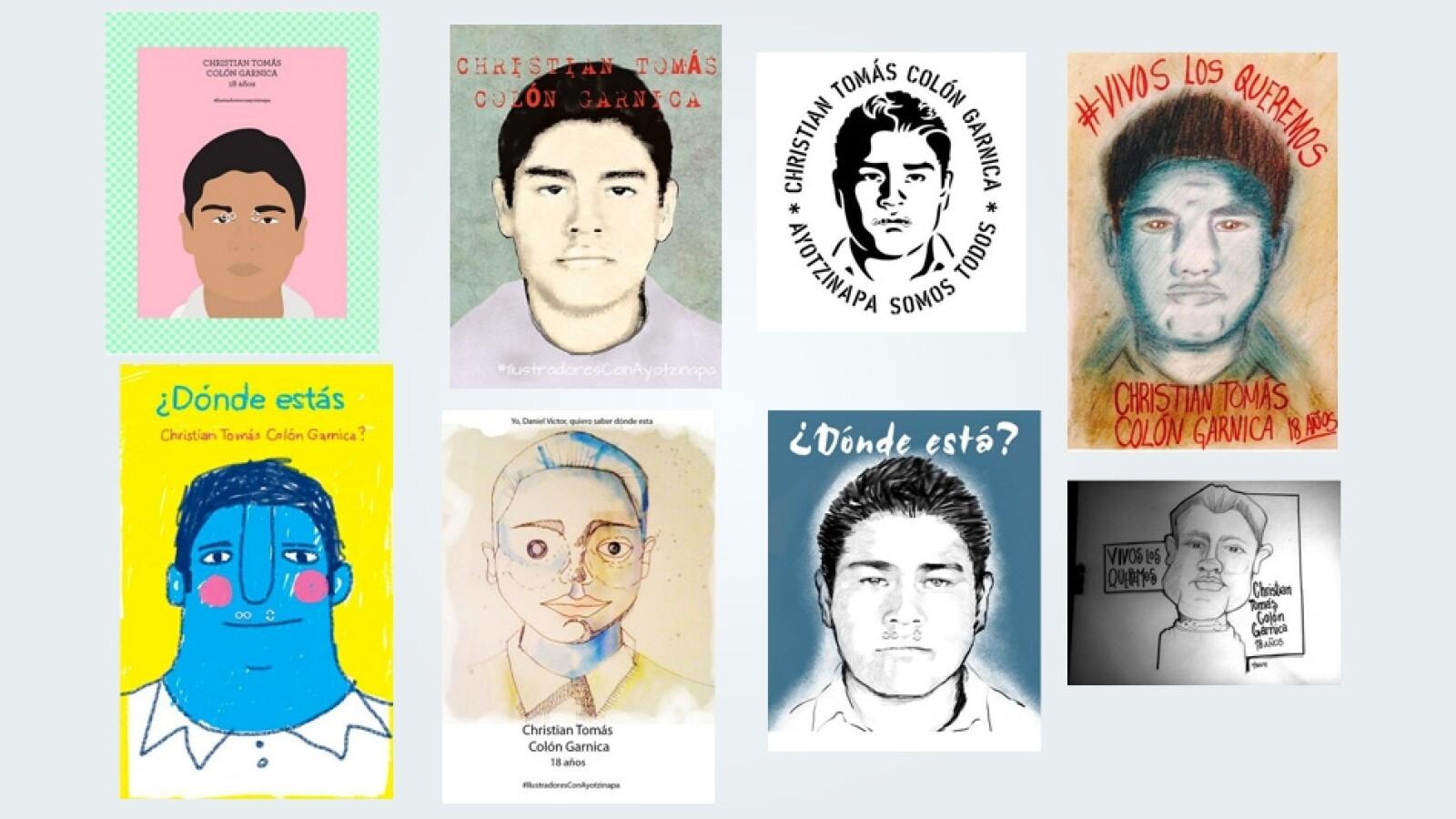 Christian Tomas Colon Ayotzinapa