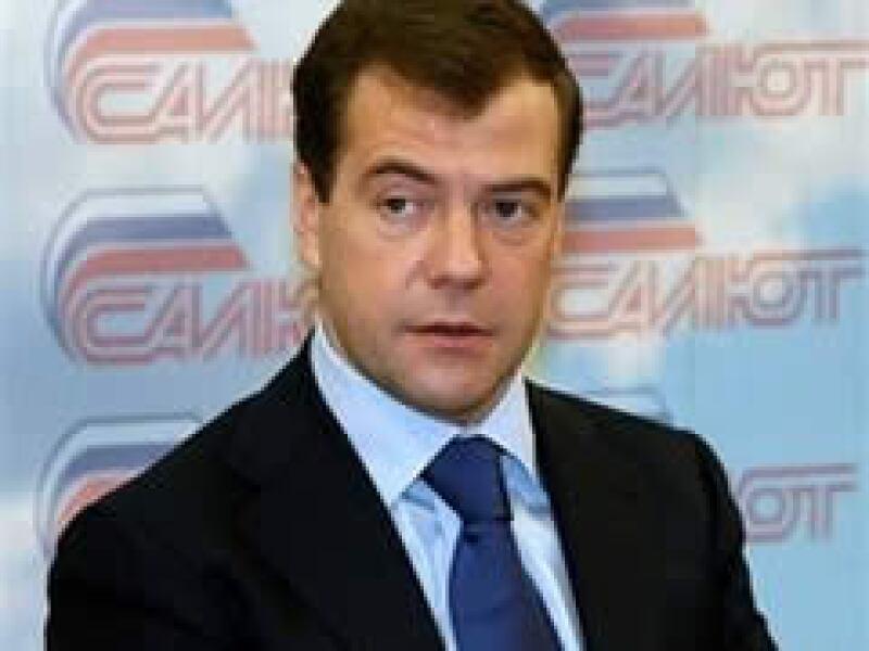 Dmitry Medvedev fue levemente criticado por la reacción de su gobierno ante la crisis económica. (Foto: AP)