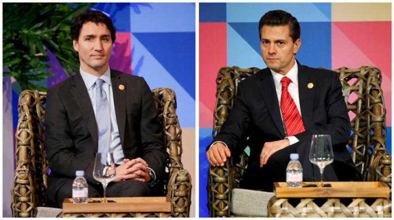 """El mandatario mexicano y el canadiense han dejado """"enamoradas"""" a las mujeres de Manila, quienes expresaron su opinión muy animadamente en redes sociales."""