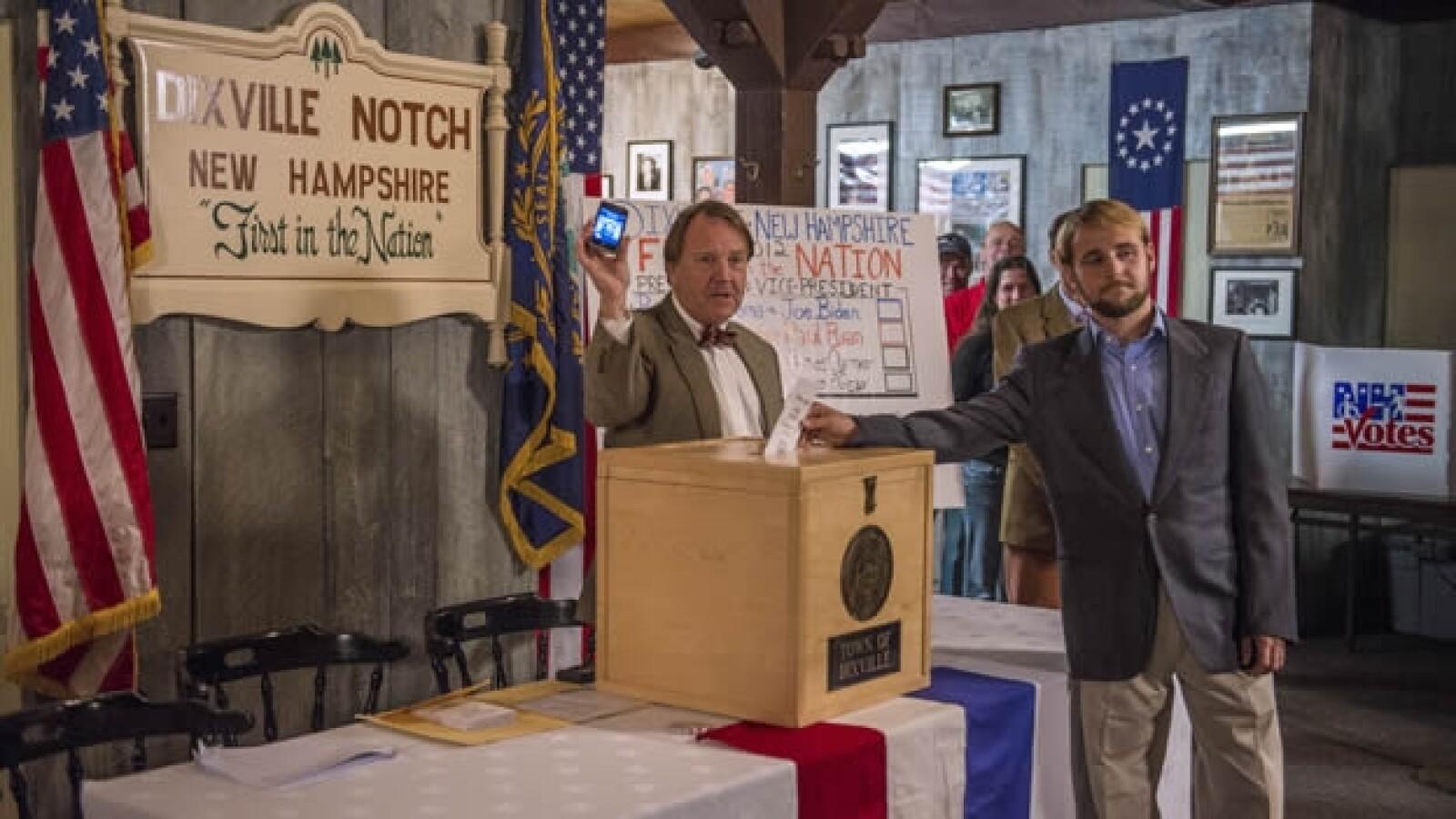 Dixville Notch, New Hampshire, votación EU primeros resultados
