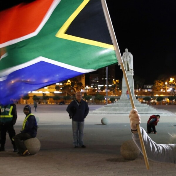 Cape Town City Hall Mandela