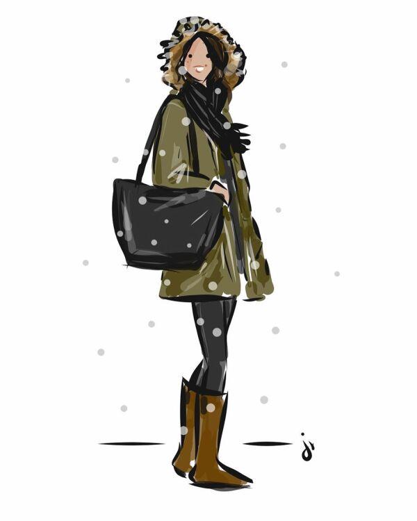 Dibujo de Meghan Markle