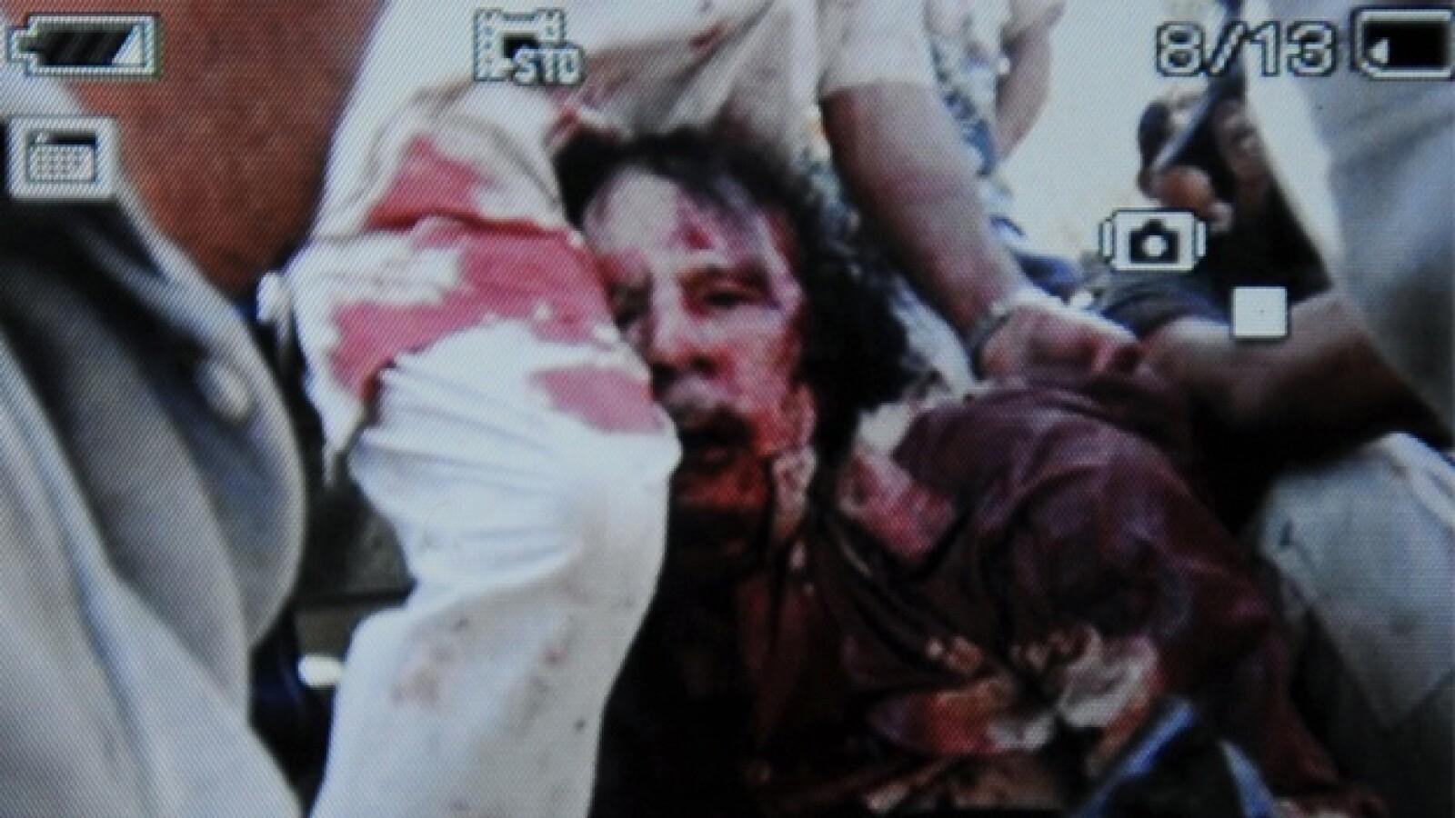 muerte de moammar gadhafi