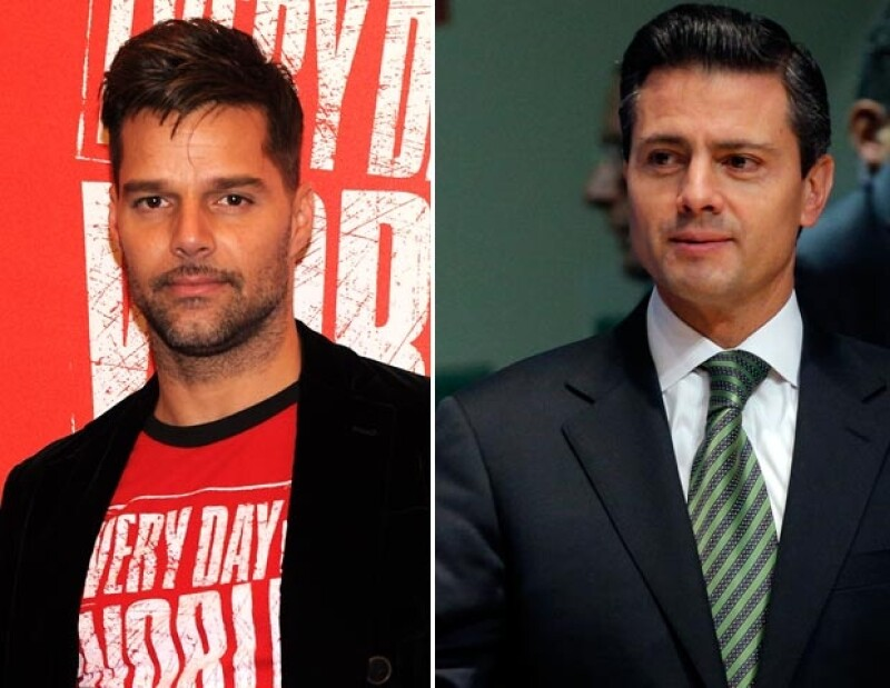 Ricky Martin y el presidente de México, Enrique Peña Nieto, opinaron sobre la renuncia del Papa.
