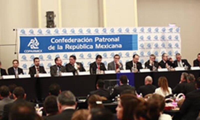 Los socios de Coparmex aportan el 30% del PIB nacional, dijo De Hoyos. (Foto: Coparmex/Cortesía )