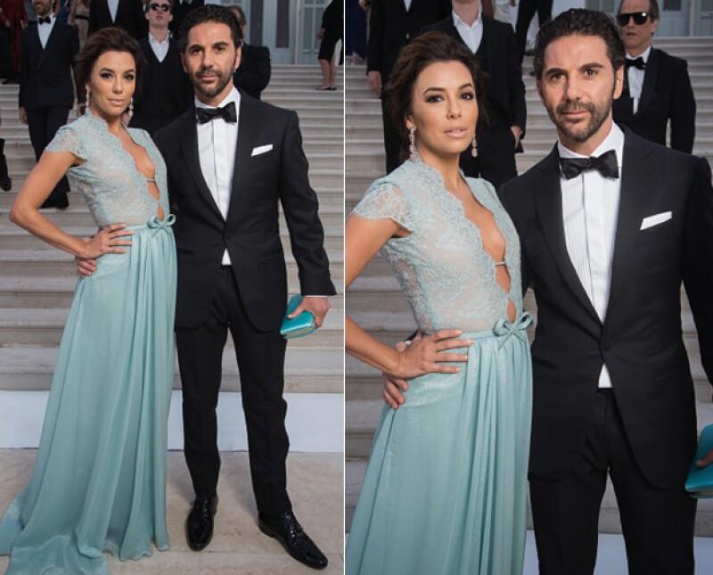 La pareja robó cámara por ser una de las parejas más elegantes invitada al Festival de Cannes.