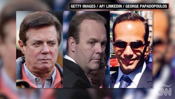 La trama rusa alcanzó a estos tres miembros de la campaña de Trump