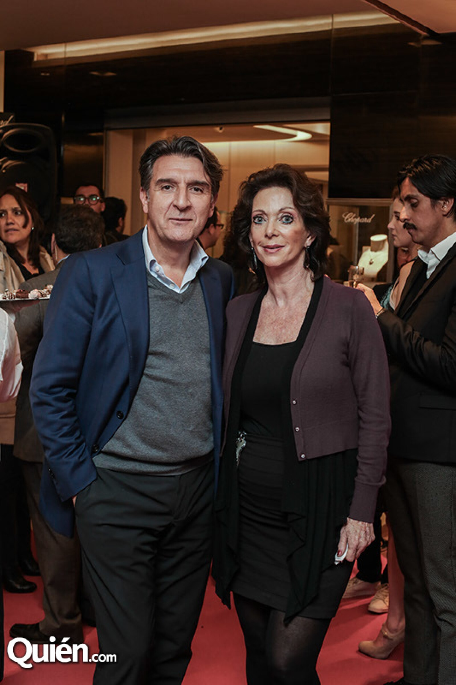 Carlos Alonso y Liora Lewis