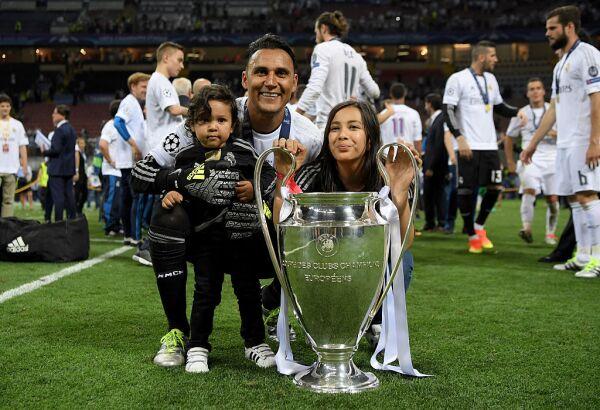 Keylor Navas Champions League