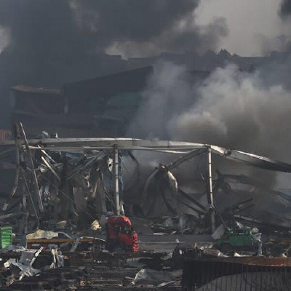 El presidente chino, Xi Jinping, urgió a realizar todos los esfuerzos posibles para rescatar a las víctimas y extinguir el incendio.