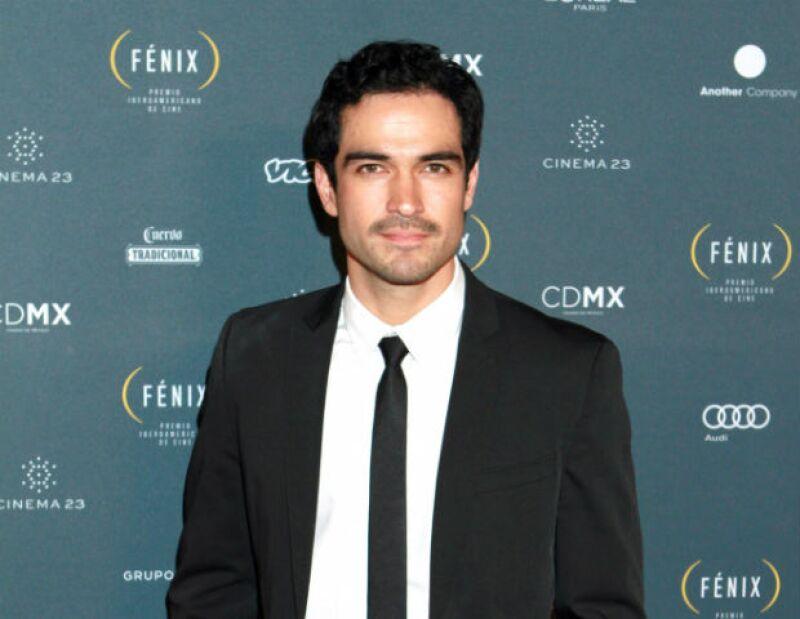 Alfonso Herrera triunfó recientemente con la película La Dictadura Perfecta.