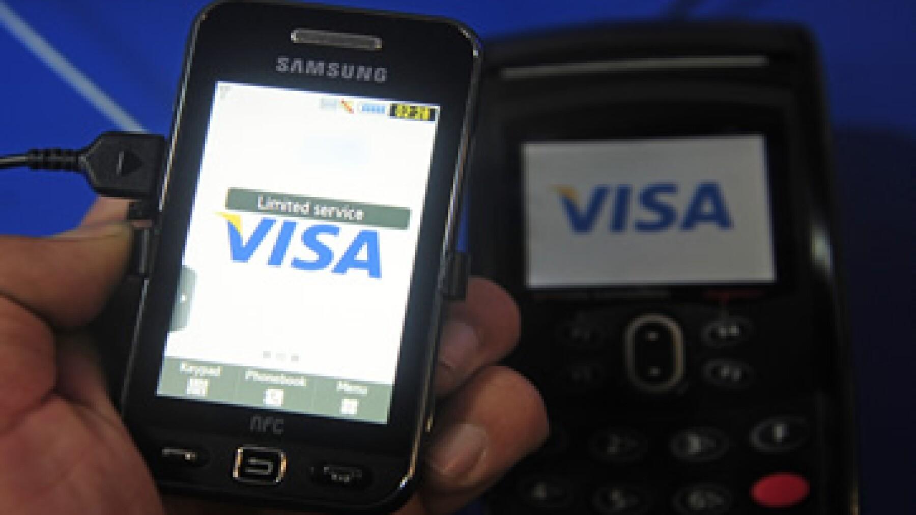 Las utilidades de Visa crecieron a 1.92 dólares por acción clase A, desde 1.91 dólares por acción. (Foto: AP)