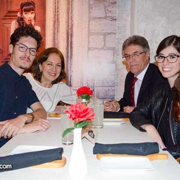 Neyva Deita,Eduardo Suárez,Patricia Ruiz de Suárez,Eduardo Suárez Ruiz