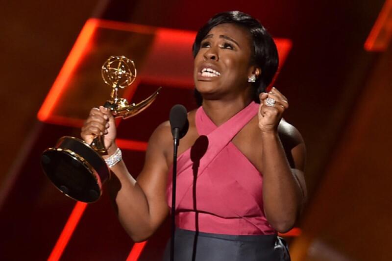 La conocida actriz de Orange is the New Black dio un discurso de aceptación por su premio que dejó a muchos conmovido.