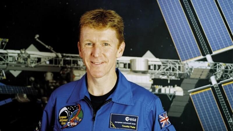 Astronauta británico Tim Peake