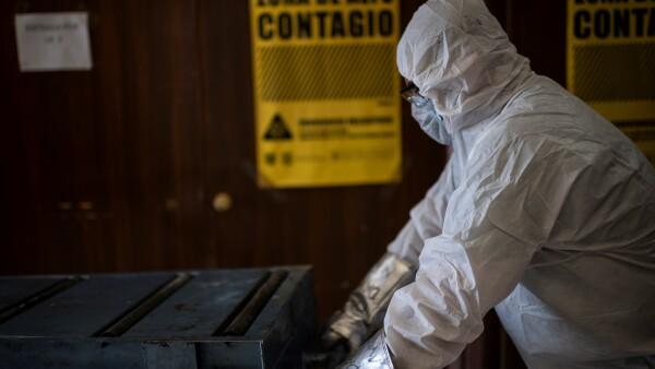 MEXICO-HEALTH-VIRUS-CREMATORIUM