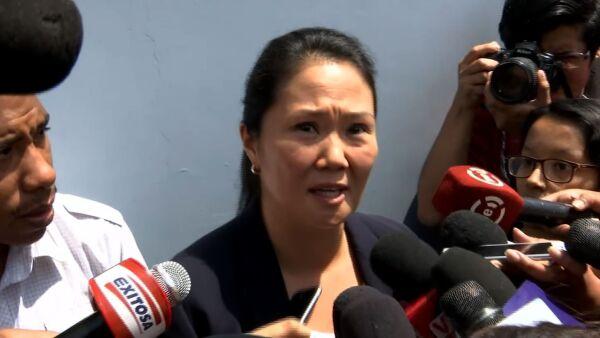Kenji y Keiko Fujimori afirman que seguirán luchando por la libertad de su padre