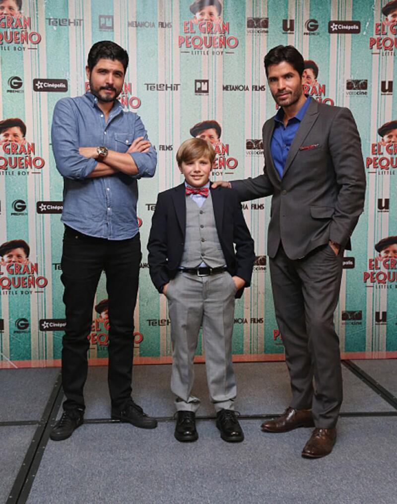 Los fallecidos son el padre y hermano de Alejandro Monteverde, director de `Little Boy´, cinta en la que actúa Eduardo Verástegui.