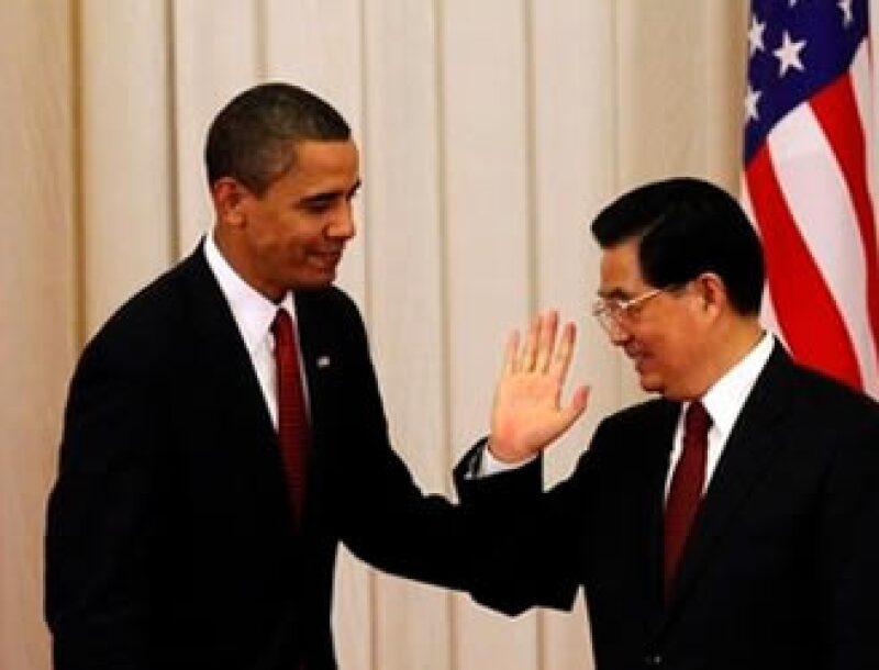 Obama recibe esta semana una misión diplomática encabezada por el mandatario chino Hu Jintao. (Foto: AP)
