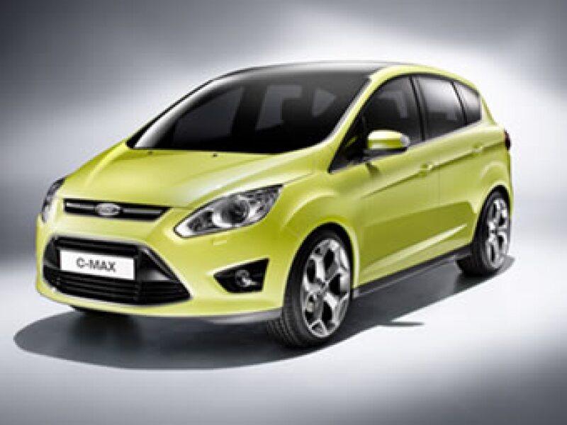 El C-Max se comercializará en el segundo semestre de 2010. (Foto: Cortesía Ford)