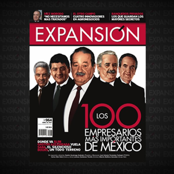 Grupo Posadas registró un crecimiento récord en 2006, cuando compró Mexicana de Aviación, por ello, Gastón Azcárraga integraba el selecto grupo de 'Los 100', aunque en el ranking 2008 perdería algunos lugares para quedar en la posición 30.