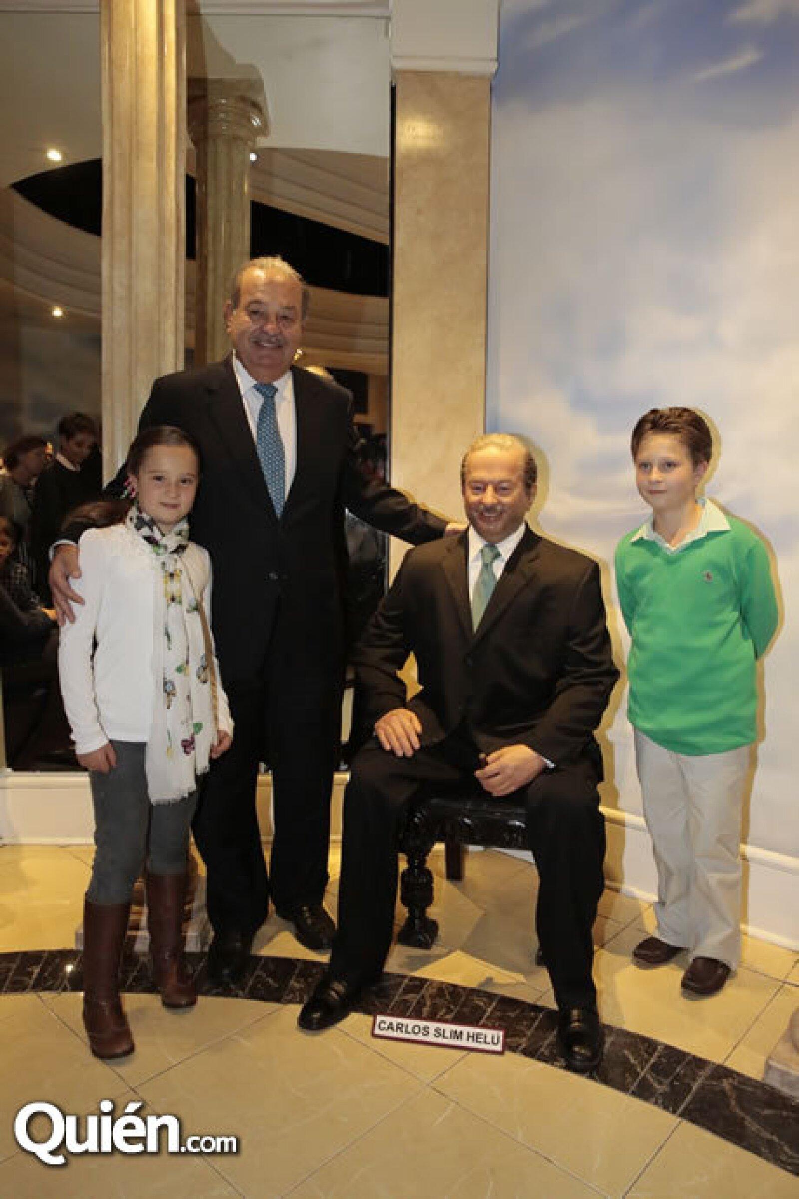 Vanessa Alemán, Carlos Slim, figura de Carlos Slim, Miguel Alemán