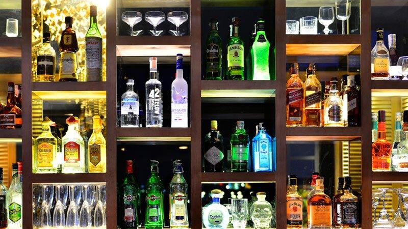 Hotel con una gran colección de whisky