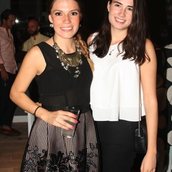 Fer Moreno y Andrea Barba