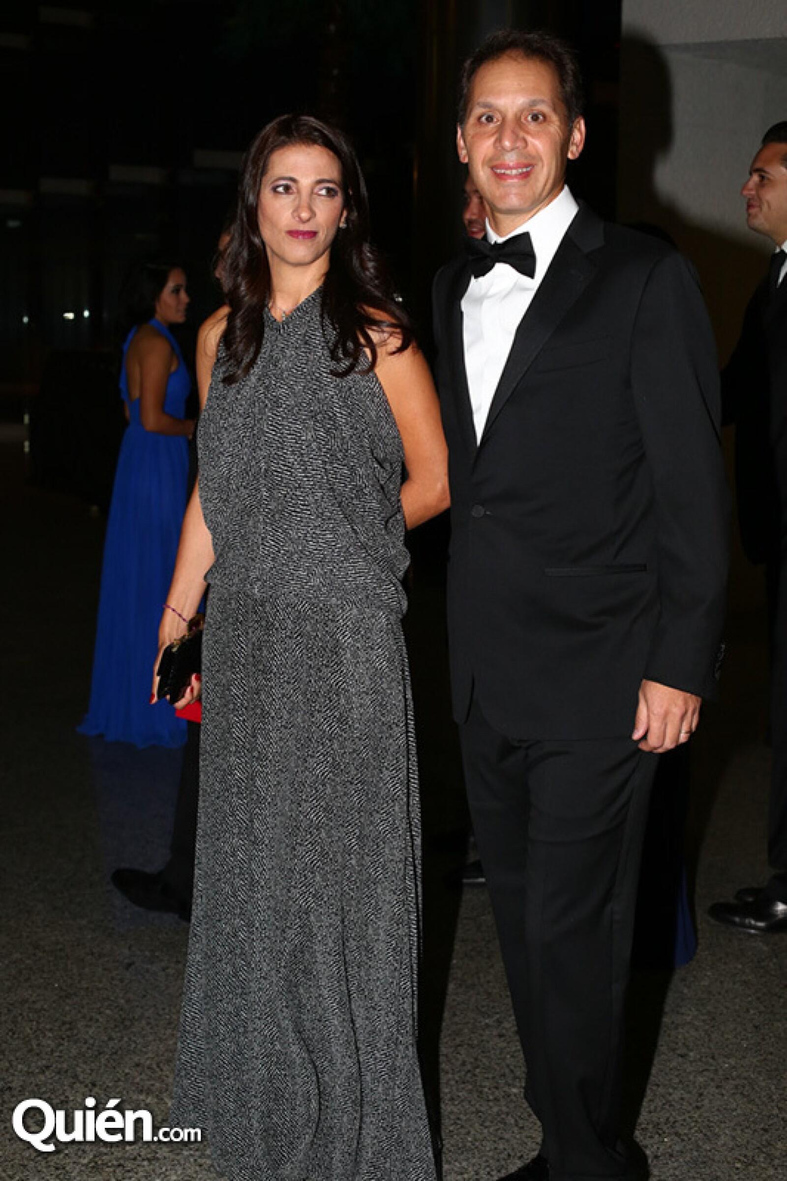 Vanessa Slim y Daniel Hajj