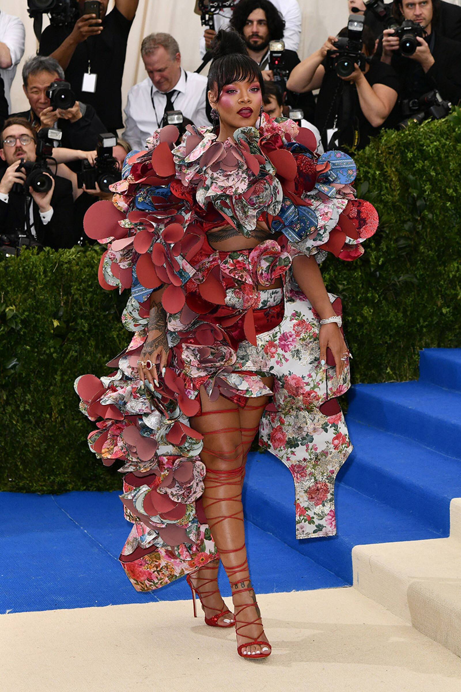 The Costume Institute Benefit celebrating the opening of Rei Kawakubo/Comme des Garcons: Art of the In-Between, Arrivals, The Metropolitan Museum of Art, New York, USA - 01 May 2017
