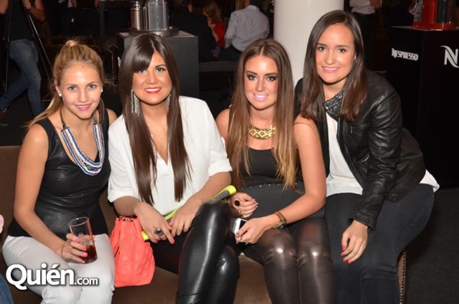 Nati Salame, Nicole Ruiz, Erica Arellano y Solange Turón
