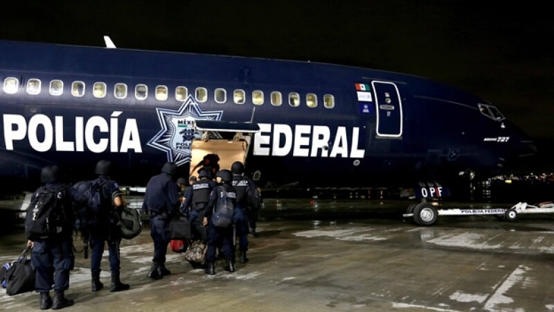 Elementos de la Gendarmería fueron desplegados a cinco estados con problemas de seguridad pública