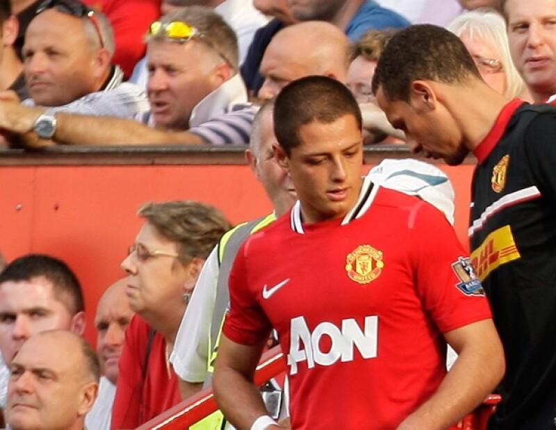 El joven mexicano es muy querido por sus compañeros y la afición del Manchester United.