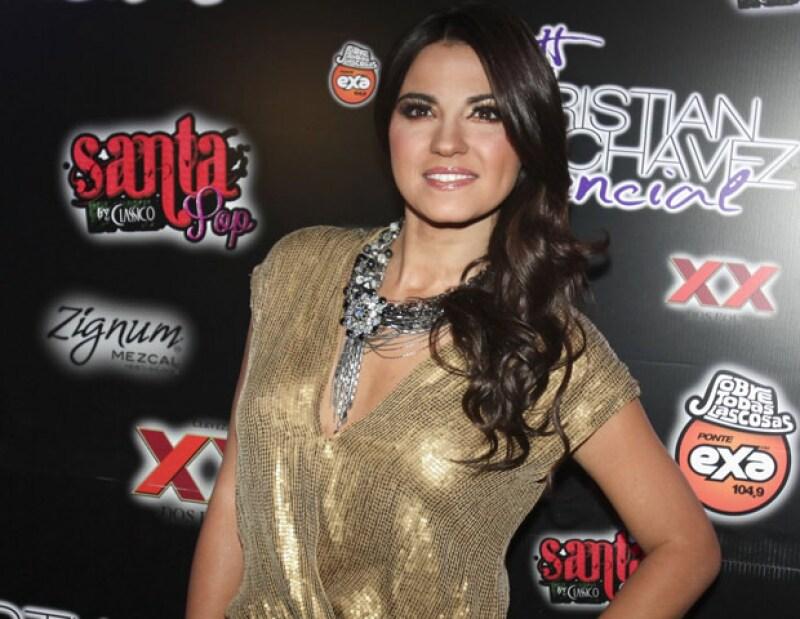 La actriz aseguró que el haber incursionado en la pantalla grande la llenó de mucha ilusión, sobre todo el protagonizar una historia muy mexicana.