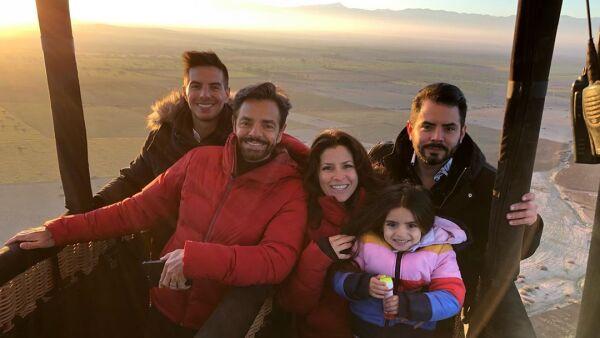 Vadhir, Eugenio, Alessandra, Aitana y José Eduardo Derbez