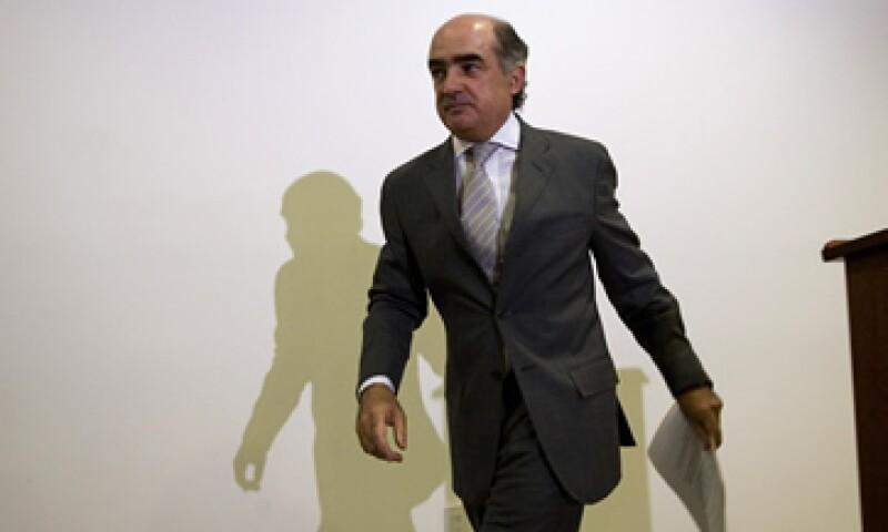 Luis Tellez, presidente de la Bolsa mexicana aseguró que en México la relación de la deuda con el PIB es de 30%. (Foto: Notimex)