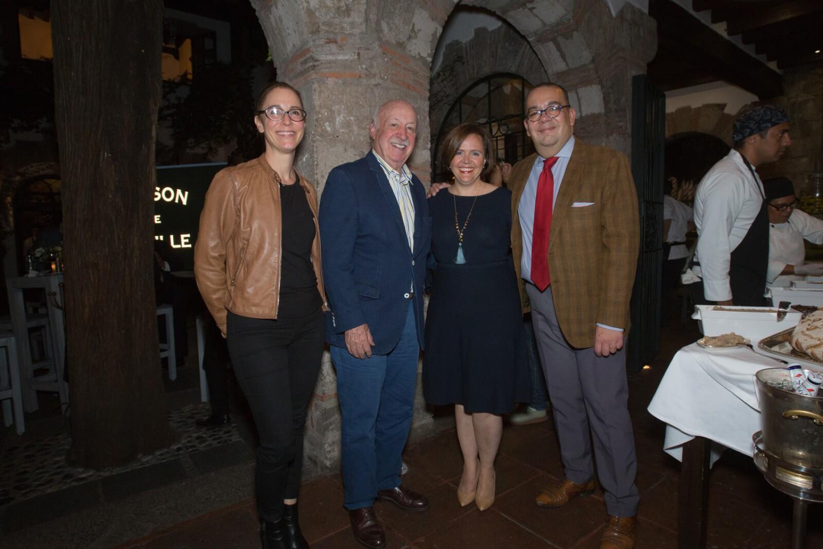 Isabel Barragan, Bruno Newman, Valerie Avernin y Nicolas Alvarado.jpg